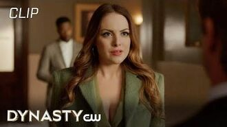 Dynasty Season 3 Episode 9 The Caviar, I Trust, Is Not Burned Scene The CW