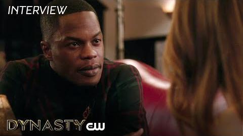 """Dynasty Sam Adegoke """"Jeff Colby"""" Interview The CW"""
