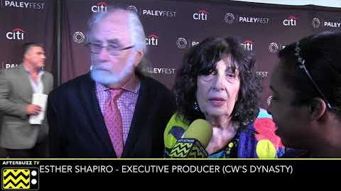 "Esther Shapiro talks CW's ""Dynasty"" Reboot PaleyFest 2017 - AfterBuzzTV"