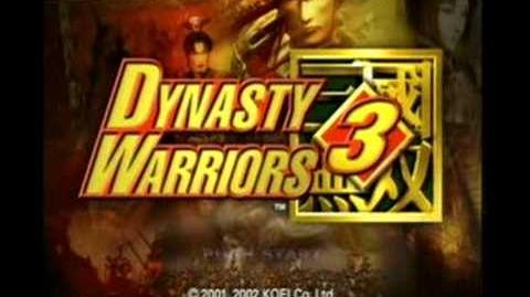 Dynasty Warriors 3 - KOEI - Intro and attract mode