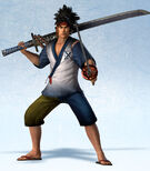 Musashi Miyamoto Yukata Costume (SW4E DLC)