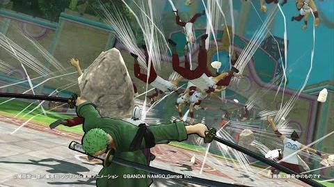 PS4・PS3・PS Vita「ワンピース 海賊無双3」 プレイ動画【ロロノア・ゾロ】編