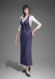 Wang Yi Uniform Costume (DW9 DLC)