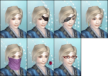 DW6E Female Facial Accessories