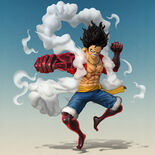 One-Piece-Pirate-Warriors-4-Luffy-Snakeman-Render