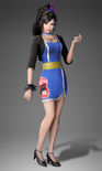 Zhenji Race Queen Costume (DW9 DLC)