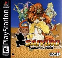 Saiyuki Journey West cover