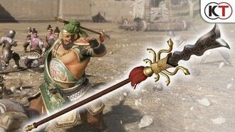 """Dynasty Warriors 9 Additional Weapon """"Serpent Blade"""""""