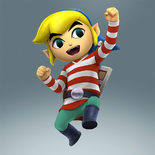 Toon Link Alternate Costume 2 (HWL DLC)