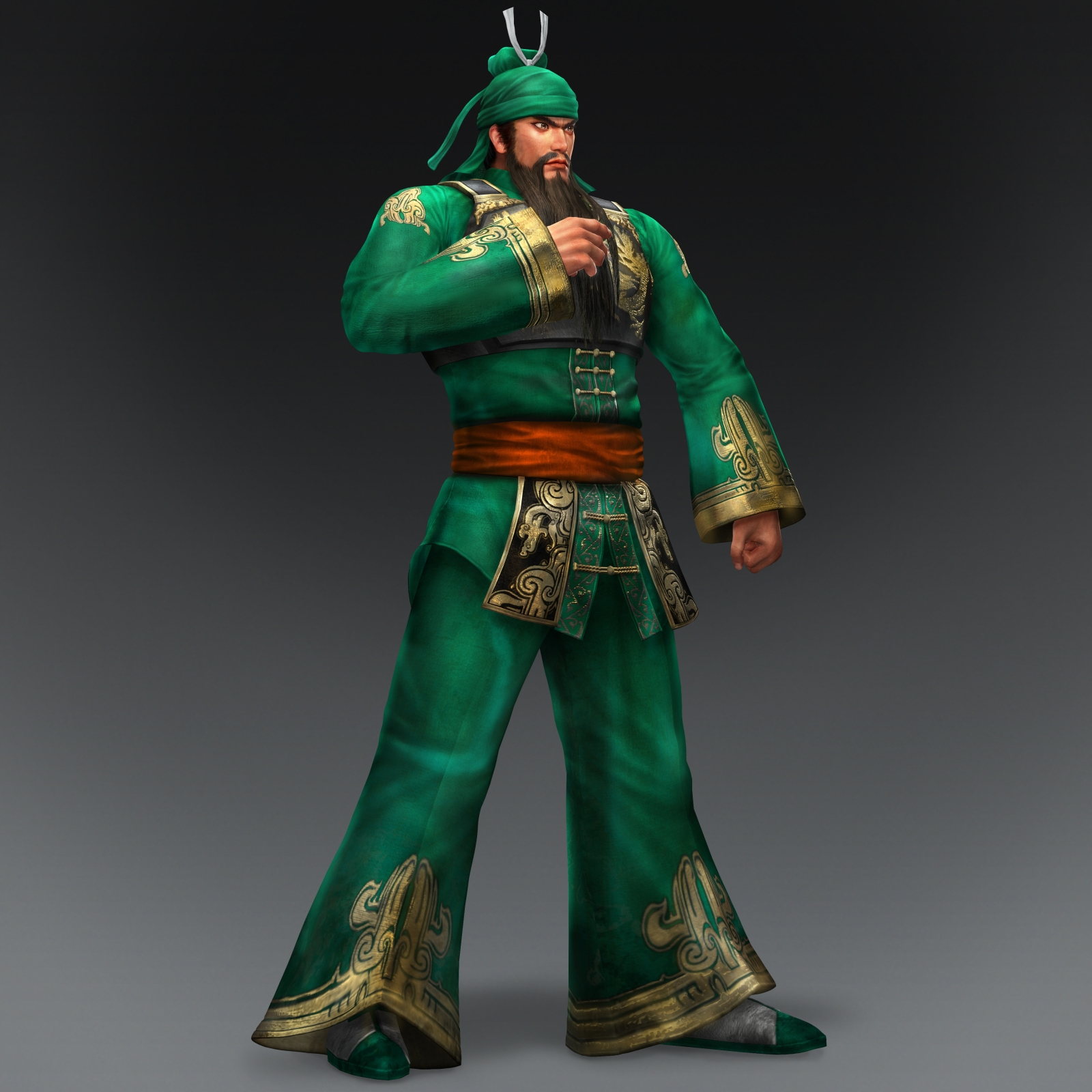 Warriors Orochi 3 Ultimate Weapons Big Star: Image - Guan Yu DW1 Costume (DW8 DLC).jpg