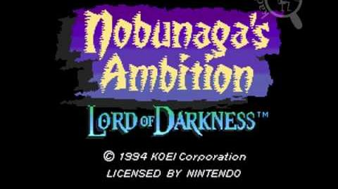Intro SNES Nobunaga's Ambition 2 - Lord of Darkness