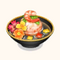 Shrimp Dumpling with Flowers Soup (TMR)