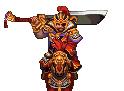 Xiahou Dun Battle Sprite 3 (ROTKLCC)