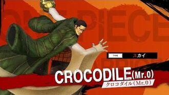 「ONE PIECE 海賊無双4」キャラクター紹介映像~クロコダイル~ PS4 Nintendo Switch XboxOne