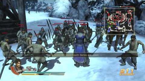 Dynasty Warriors 8 Chapter 6-X Battle of Xiapi (Wei, Xbox 360 playing)