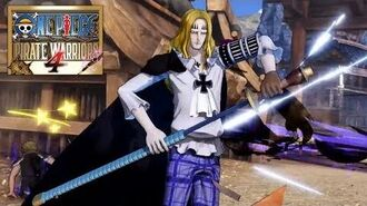One Piece Pirate Warriors 4 - Character Introduction Basil Hawkins