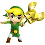 Toon Link - Sand Wand (HWL)