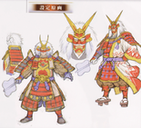 Shingen Takeda Concept Art (SW4)
