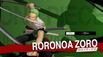 「ONE PIECE 海賊無双4」キャラクター紹介映像~ゾロ~ PS4 Nintendo Switch XboxOne