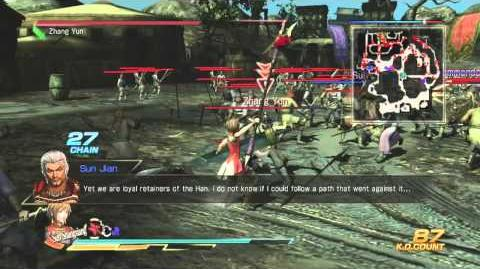 Dynasty Warriors 8 5th Weapon Guide - Sun Shangxiang (Chaos)