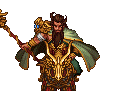 Guan Yu Battle Sprite 3 (ROTKLCC)