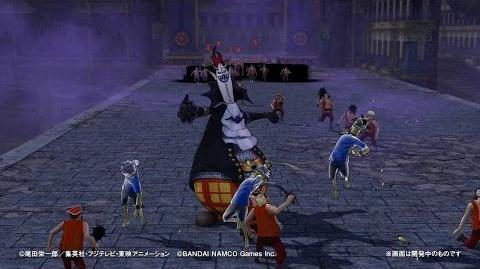 PS4・PS3・PS Vita「ワンピース 海賊無双3」 プレイ動画【モリア】篇