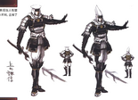 Kenshin Uesugi Concept Art (SW3)