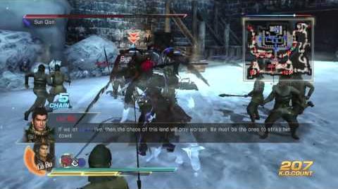 Dynasty Warrior 8 5th Weapons Guide - Lu Bu