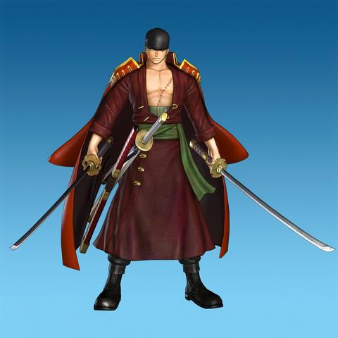 File:Roronoa Zoro Film Z Costume (OP2 DLC).png