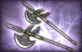 3-Star Weapon - Wind Axes