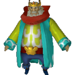 King Daphnes Alternate Costume (HWL)
