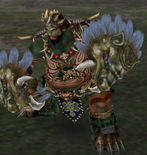 Meng Huo Alternate Outfit (WO)