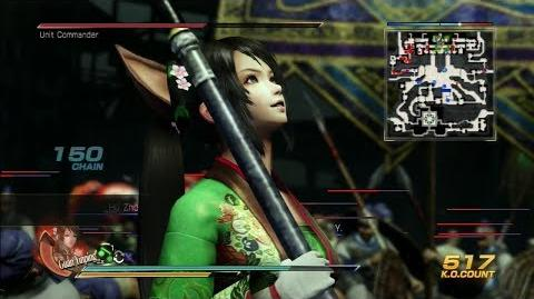 Dynasty Warriors 8 Guan Yinping Gameplay with Exclusive DLC Costume Battle of Wu Zhang Plains