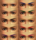 Eyebrow Colors (SWC3)