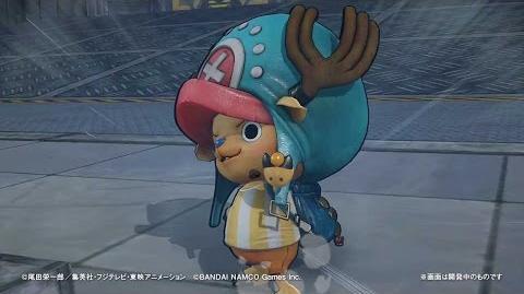 PS4・PS3・PS Vita「ワンピース 海賊無双3」 プレイ動画【チョッパー】編