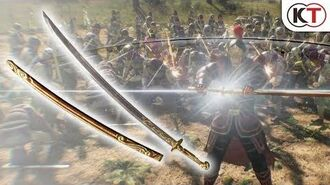 """Dynasty Warriors 9 Additional Weapon """"Curved Sword"""""""