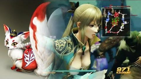 真・三國無双7 王元姫 天狐「南中獣獲戦」修羅 - Wang Yuanji with Tenko Gameplay - Dynasty Warriors 8