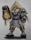 Benkei Concept Art (WO2PSP)