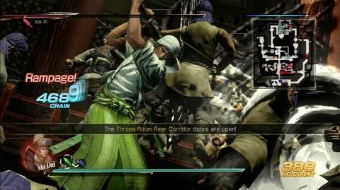 Dynasty Warriors 8 Ma Dai Gameplay with DLC Costume Invasion of Luoyang