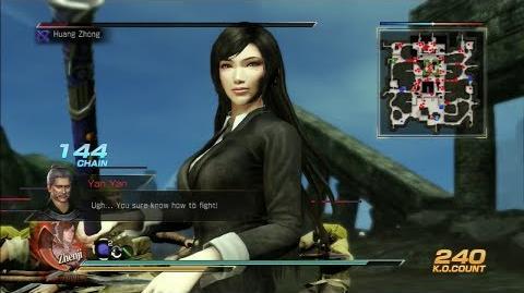 Dynasty Warriors 8 Zhen Ji Gameplay with Exclusive DLC Costume Battle of Yang Ping Gate