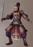 Sun Jian Alternate Outfit 3 (DW4)