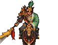 Guan Ping Battle Sprite 2 (ROTKLCC)