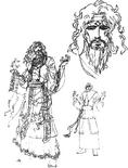 Zhang Jiao Concept Art (DW3)