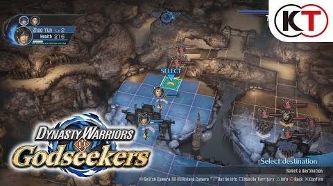 DYNASTY WARRIORS GODSEEKERS - GAMEPLAY TRAILER 1