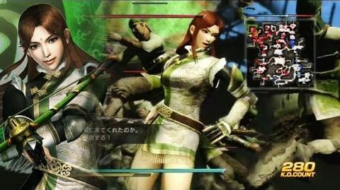 真・三國無双7 月英 刃弩「秘蔵武器獲得戦」修羅 - DLC Blade Bow Gameplay - Dynasty Warriors 8