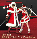 Protagonist Santa Outfits (SWC3 DLC)