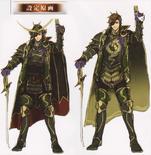 Masamune Date Concept Art (SW4)