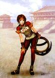 Dynasty Warriors 4 Artwork - Sun Shang Xiang