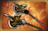 Twin Axes - 4th Weapon (DW8)