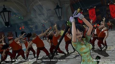PS4・PS3・PS Vita「ワンピース 海賊無双3」 プレイ動画【たしぎ】篇
